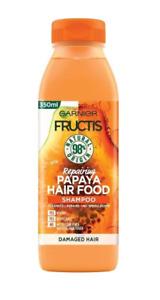 Garnier Fructis Shampoo Papaya Damaged Hair Repairing Vegan Nourishing 350 ml