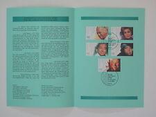 (00j44) Bund Erinnerungsblatt 2000 ESST Mi.Nr. 2143-2147 Wohlfahrt Schauspieler