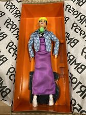 Barbie BMR1959 Doll Streetwear Neon Dress & Denim Jacket Neon Beret Hoop Earring