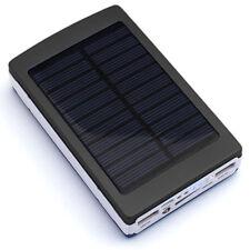 Chargeur Batterie Solaire  Banque D'Alimentation 12000mAh Torche 20 LED Dual USB