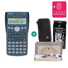 Casio FX 82 MS CALCOLATRICE + Protezione Borsa geometrieset GARANZIA