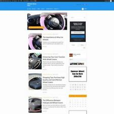 CAR ACCESSORIES STORE - Work From Home Affiliate Website Business + Domain