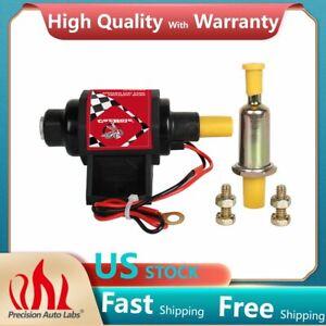 "42S 12V Low Pressure 2.5-4PSI Micro Electric Gasoline Fuel Pump 42 GPH 5/16"" NEW"