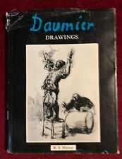 1968 HC Honoré Daumier Drawings Classic French Art Book