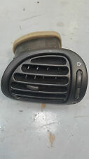 PEUGEOT 206 98-10 DRIVER SIDE O/S DASHBOARD AIR VENT 9624664277