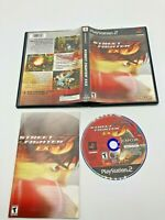 Sony PlayStation 2 PS2 Tested CIB Complete Street Fighter EX3 Ships Fast