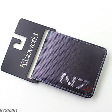 Game Mass Effect 3 N7 Cosplay Two-Fold purse Bifold Leather wallet