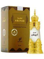 Sandal Abiyad 20ml Perfume Oil by Afnan | Unisex | Sandalwood, Rose, Musk
