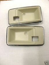 1980 INDY PACE CAR TRANS AM DOOR HANDLE BEZEL WHITE - OYSTER 1975 - 1981 CAMARO
