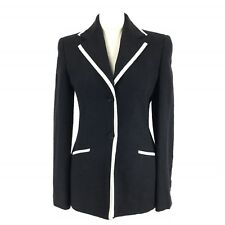 LOUIS FERAUD CLUB Smart Tailored Cotton Linen Mix Longline Blazer Jacket 8
