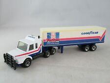 Matchbox convoy Scania box truck Vector Goodyear