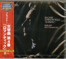 HERBERT VON KARAJAN-BRUCKNER: SYMPHONY NO.4-JAPAN CD C68