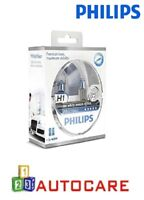 Philips Xenon Effect H1 White Vision Headlights Halogen Bulbs Twin Pack
