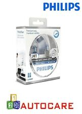Philips efecto Xenón Blanco H1 bombillas halógenas visión Faros Paquete Doble