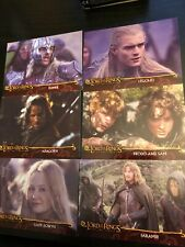 lord of the rings trading cards The Two Towers