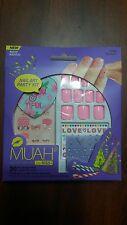 Kiss Nail Art Kit Muah Party