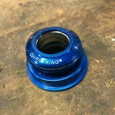 "Chris King InSet Tapered Headset 1-1/8"" to 1-1/2"" Tapered Steerer - Blue"