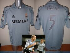 Real Madrid ZIDANE Adidas Adult L France Shirt Jersey Football Soccer Trikot A