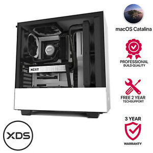 i9 10900 10-Core 5.2GHZ,64GB 3000MHZ,1TB M.2 SSD,8GB WX 5100,TB 3 macOs Catalina