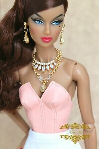 Fashion royalty Integrity toys jewelry necklace earrings accessories
