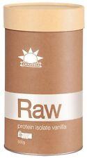 Amazonia RAW Organic Protein Isolate Vanilla 1kg Ships Same Day