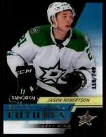 2020-21 Exceptional Futures Jason Robertson Rookie 118/749 #EFSJR