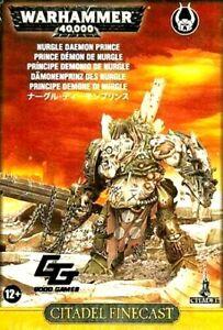 >>  Death Guard NURGLE DAEMON PRINCE  Warhammer 40K *Finecast* NIB!