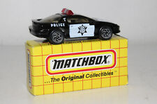 Matchbox Superfast #Mb59 Chevrolet Camaro Police Pursuit, Excellent, Boxed