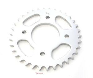 Parts Unlimited Rear Sprocket 34T - Honda CB350 CB350F CL350 CL360 CB360 CB400F