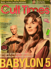 CULT TIMES EDITION 32 - Earth: Final Conflict - Due South - Babylon 5 - CT1