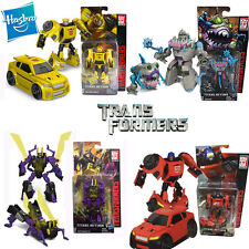 4 Set Transformers Titans Return Kickback Roadburn Sharkticon Gnaw Bumblebee Toy