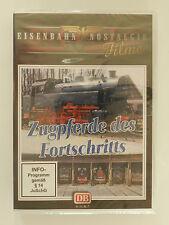 DVD Zugpferde des Fortschritts Eisenbahn Nostalgie Neu originalverpackt