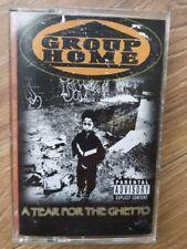Group Home - A Tear For The Ghetto Gang Starr Guru Dj Premier Cassette ☆☆Rare ☆☆