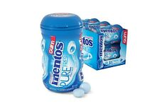 MENTOS PURE FRESH SUGAR FREE MINT CHEWING GUM 50PCS - 6CT TO PACKET