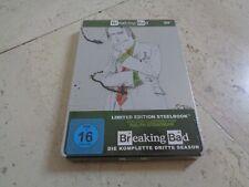 BREAKING BAD Season 3 OOP DVD SteelBook NEW & SEALED Bryan Cranston Aaron Paul