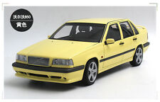 DIE CAST MODEL,autoart 1:18,VOLVO 850 T-5R Sedan,YELLOW