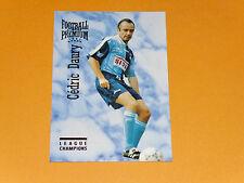 CEDRIC DAURY LE HAVRE AC HAC JULES-DESCHASEAUX FOOTBALL CARD PREMIUM PANINI 1995