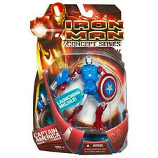 "IRON MAN Concept Series Collection__CAPTAIN AMERICA ARMOR 6 "" action figure__MIP"