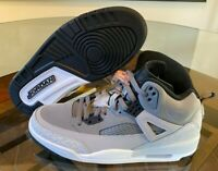 Nike Jordan Spizike Cool Grey Black Wolf Grey Orange 315371-008 Men's Size 9