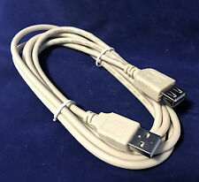 "6' ft USB 2.0 Cable Standard Type ""A"" (M-F) High Speed Extension Cord Wire VWLTW"
