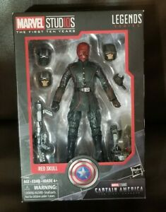 Marvel Studios Legends Series Red Skull The First Ten Years