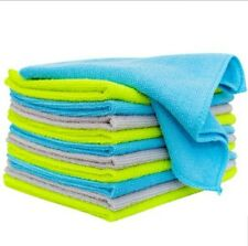 """Microfiber Cloths Set, 50 pack, Cleaning Reusable Wipes 14""""x16"""", Cleaning Towels"""