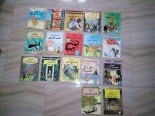TINTIN Hergé 17 Comics In Arabic Edition , Adventure Comic, Children Book, Egypt