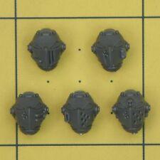 Warhammer 40K marines espaciales Gris Caballeros Terminator Paladin cascos