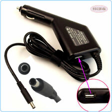 DC Power Adapter Car Charger +USB for Dell CDF57 D0KFY DA45NM131