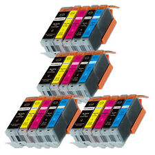 20PK Combo Printer Ink chipped for Canon 250 251 MG6600 MG6622 MX920 MX922
