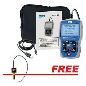 OTC Trilingual Scan Tool OBDII,CAN,ABS & Airbag w/FREE Video Inspection Camera