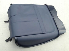 Range Rover L322 Genuine front right seat rear cover leather (NAVY/PARCHMENT)