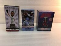 3 Minnesota Twins 2017 SGA Bobbleheads Rod Carew Michael Cuddyer Rocket Raccoon