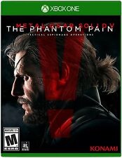 Metal Gear Solid V: The Phantom Pain [Xbox One XB1, Stealth Action, Open World]
